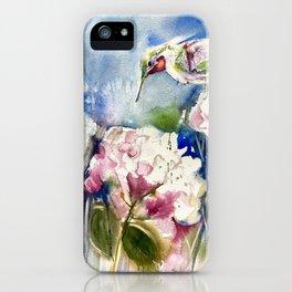 Vickie's Hummingbird iPhone Case