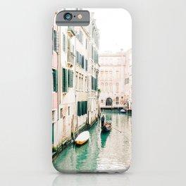 Gondola in Venice, Italy iPhone Case