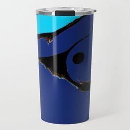 Recline in Blue Travel Mug