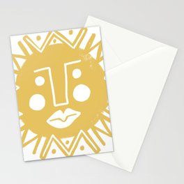 Cheerful Happy Sunshine Numero 4 Stationery Cards