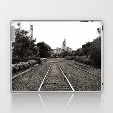 Railroad Tracks Laptop & iPad Skin