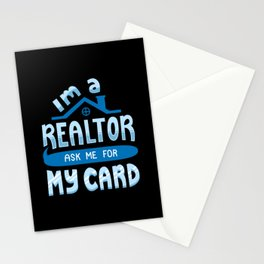 I'm A Realtor Stationery Cards
