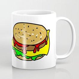 Cheeseburger Doodle Coffee Mug