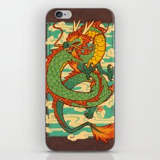 Serpent of the Wind iPhone & iPod Skin