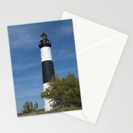 Big Sable Point Light Stationery Cards