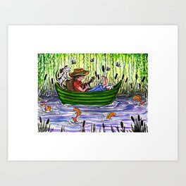 Summer Pond Art Print
