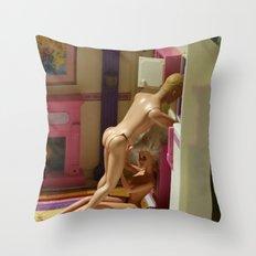Barbie & Ken Throw Pillow