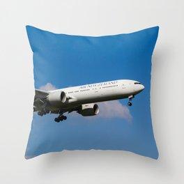 Air New Zealand Boeing 777 Throw Pillow