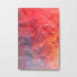 Plastic Metal Print