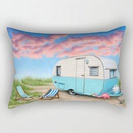 The Happy Camper Rectangular Pillow