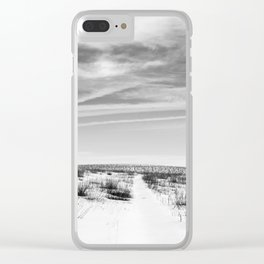 pathways (recently untraveled) Clear iPhone Case