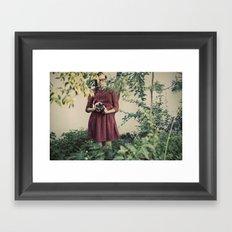 First camera Framed Art Print