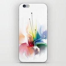 Beautiful abstract flower iPhone & iPod Skin