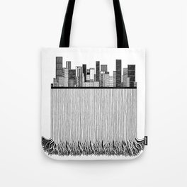 City with roots Tote Bag