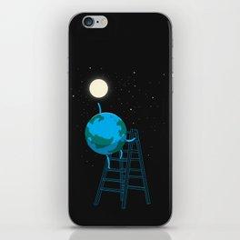 Reach the moon iPhone Skin