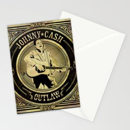 Johnny Cash Outlaw Stationery Cards
