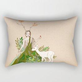 Mori girl Rectangular Pillow