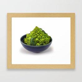 Broccoli Romano Framed Art Print