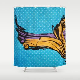 O'Prime abstra car Shower Curtain