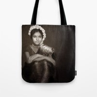 india Tote Bags featuring India by Alexia Rose