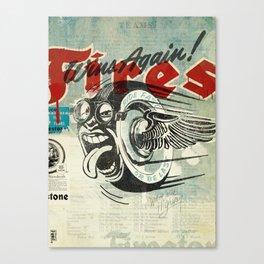 Firestone Tires Canvas Print