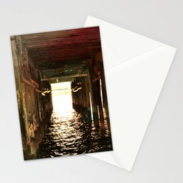 Pier in Santa Cruz Stationery Cards