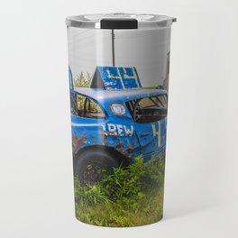 Derby Car, Regan, North Dakota Travel Mug