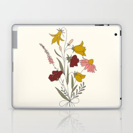 Wildflowers Bouquet Laptop & iPad Skin