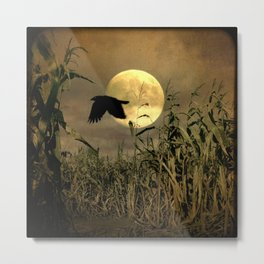 Havest Moon Metal Print