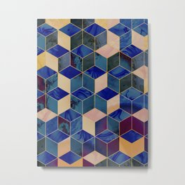 Geometrical Force #2 Metal Print