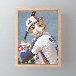 Montreal 'Chat'pos Framed Mini Art Print