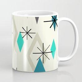 Mid Century Modern Diamonds Coffee Mug