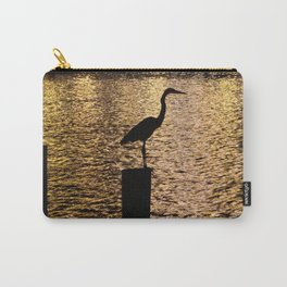 Heron Silouette Carry-All Pouch