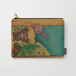 Forest wool Carry-All Pouch