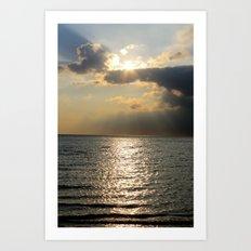 Kattegat Bay Art Print