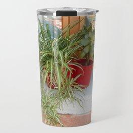 House Plants in Burano Travel Mug