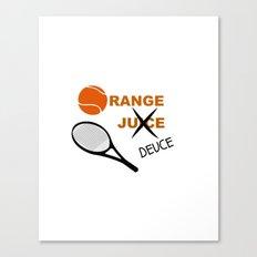 Orange Deuce Canvas Print