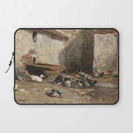 Cornelis Bisschop Decorative Scene Laptop Sleeve