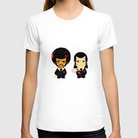 pulp T-shirts featuring pulp fiction by sEndro