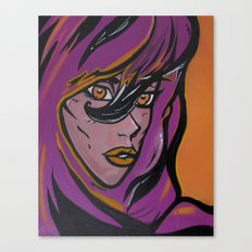 Purple Queen Canvas Print