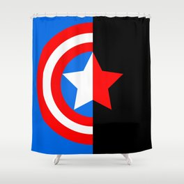 'til the end of the line Shower Curtain