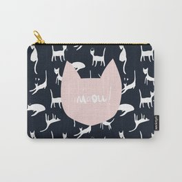 Blue Miaou ! Carry-All Pouch