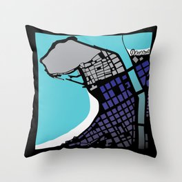 DONOSTIA - SAN SEBASTIAN Throw Pillow