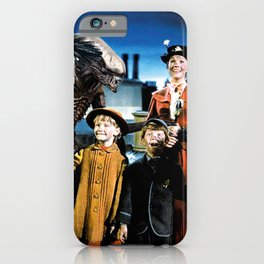 Alien in Mary Poppins iPhone Case