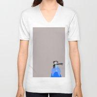 edward scissorhands V-neck T-shirts featuring Edward scissorhands by DocPastor