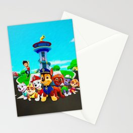 Paw Patrol Stationery Cards
