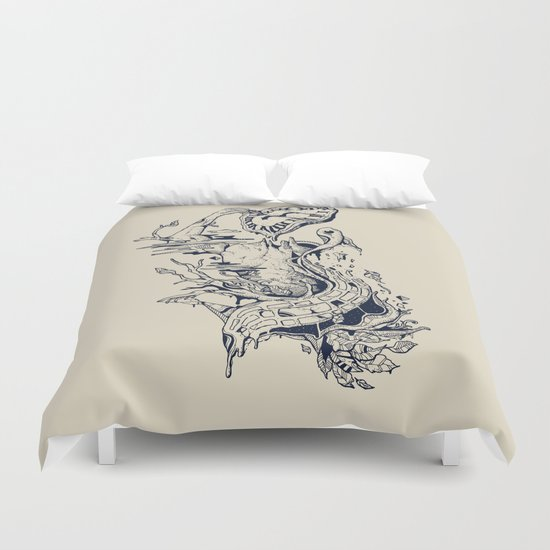 I Melt with You Duvet Cover