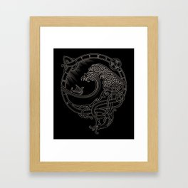 NORTH WIND Framed Art Print