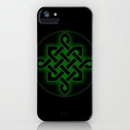 celtic knot symbol iPhone Case