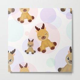 Fawns Bambi. Metal Print